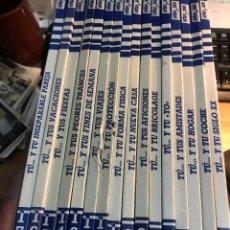 Livros de Banda Desenhada: 20V - FORGES. LOS MANUALES DE CRISP Y SON. 16 TOMOS DEL 1 - 17 PUBLICACIONES PERIODICAS 1985. Lote 243873330