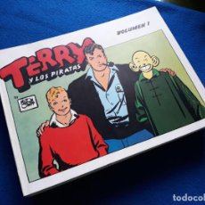 Tebeos: TERRY Y LOS PIRATAS: LOTE 1 AL 12 (A FALTA DEL 2) - EDITA EL AVENTURERO Y OTROS. Lote 243978365