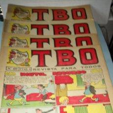 Tebeos: LOTE DE TBO. 20 NÚMEROS. AÑOS 1967-1972.. Lote 244469700