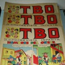 Tebeos: LOTE DE TBO. 20 NÚMEROS. AÑOS 1971-1972.. Lote 244470110