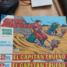 Livros de Banda Desenhada: LOTE DE 24 COMICS CAPITAN TRUENO NUMEROS DEL 583 AL 605. Lote 244485430