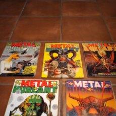Tebeos: LOTE COMICS METAL HURLANT METAL HEAVY. Lote 244714770