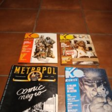 Tebeos: LOTE COMICS POLICIACOS KO METROPOL. Lote 244723405