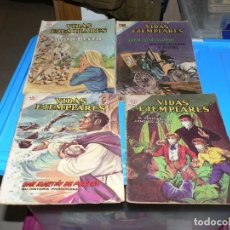 Livros de Banda Desenhada: LOTE DE NOVARO DE VIDAS EJEMPLARES CON 21 NUMEROS. Lote 244846595