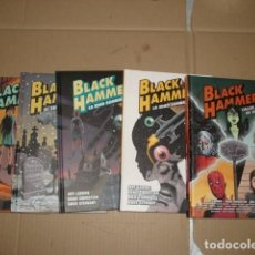 Tebeos: BLACK HAMMER, 2017, COMPLETA, ASTIBERRI, 5 TOMOS IMPECABLES.. Lote 245907220