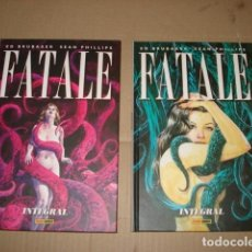Tebeos: FATALE INTEGRAL, COMPLETA, 2018, 2 TOMOS, PANINI, IMPECABLE. Lote 246449050