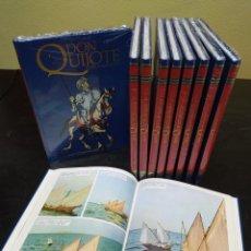 Tebeos: DON QUIJOTE DE LA MANCHA. EDICIÓN EN COMIC. EDITORIAL CEMSA, 1993. 10 TOMOS. COMPLETO.. Lote 293621573