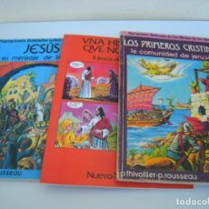 Tebeos: 3 TEBEOS TEMATICA CRISTIANA. Lote 249212510