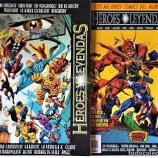 Tebeos: EXCELENTES - HEROES Y LEYENDAS - SERIE COMPLETA DE 2 NÚMEROS (0 Y 1) -FORUM (1997/98)VER DESCRIPCIÓN. Lote 251342365