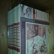 Livros de Banda Desenhada: REVISTA LA CODORNIZ, COLECCION COMPLETA, 8 TOMOS, AGUALARGA EDITORES, 2004. Lote 251501890