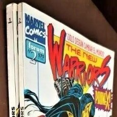 Tebeos: THE NEW WARRIORS VOL.2, TOMOS 1 Y 2 - FORUM (1994) - VER FOTOS. Lote 230283975