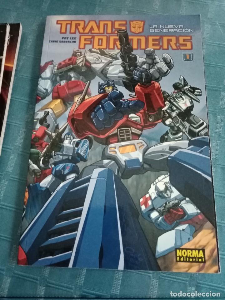 Tebeos: Lote de diferentes cómics de transformers, norma editorial, la nueva generación, comic oficial - Foto 2 - 252265850