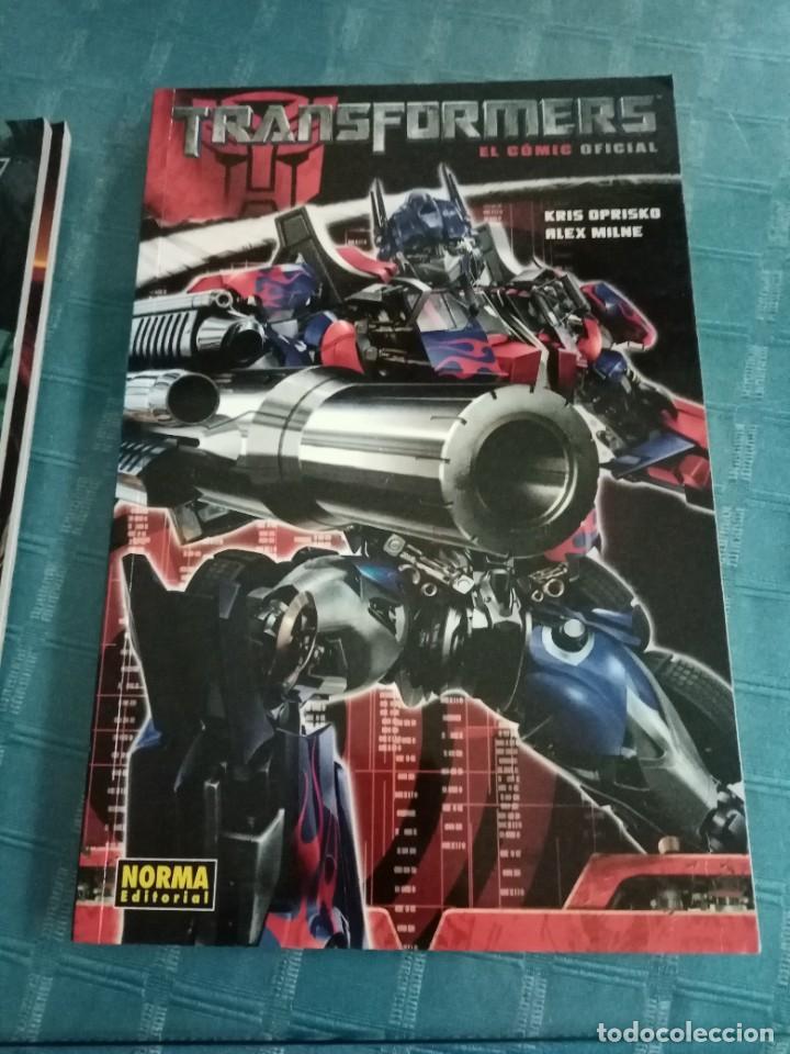 Tebeos: Lote de diferentes cómics de transformers, norma editorial, la nueva generación, comic oficial - Foto 3 - 252265850