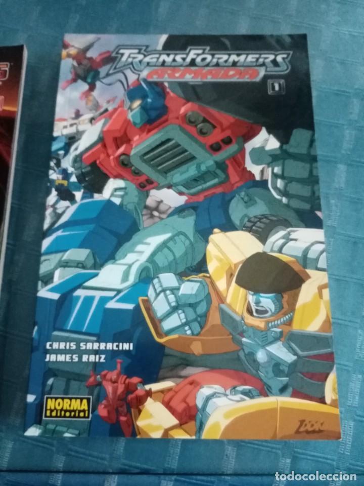 Tebeos: Lote de diferentes cómics de transformers, norma editorial, la nueva generación, comic oficial - Foto 4 - 252265850