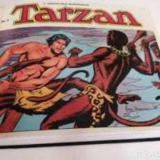 Tebeos: TARZAN - ED. BO B.O. 1987 - 10 NUMEROS COLECCION COMPLETA - ENCUADERNADO DE LUJO. Lote 252625035