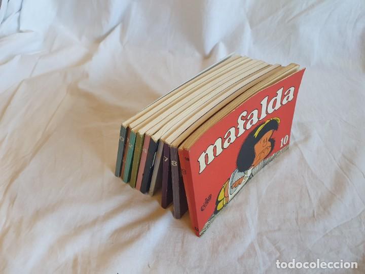 Tebeos: Colección Mafalda de Quino * 11 Tomos - Foto 2 - 253958170