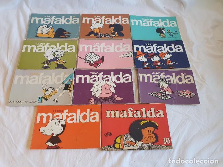 Tebeos: Colección Mafalda de Quino * 11 Tomos - Foto 5 - 253958170