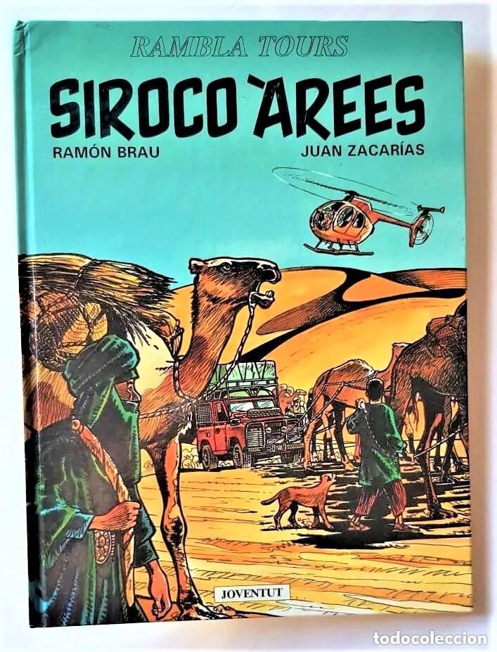 SIROCO ÁREES - BRAU / ZACARIAS - JOVENTUT (1993) - EN CATALÁN (Tebeos y Comics - Tebeos Colecciones y Lotes Avanzados)