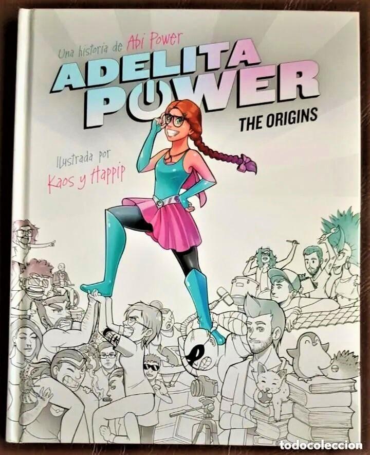 ADELITA POWER - THE ORIGINS - DE KAOS & HAPPIP (DE TIENDA) (Tebeos y Comics - Tebeos Colecciones y Lotes Avanzados)