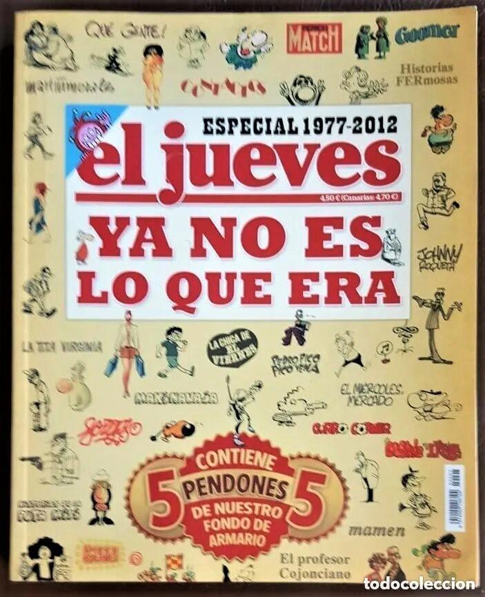 TOMO DE EL JUEVES -YA NO ES LO QUE ERA- ESPECIAL 1977 - 2012, - VER FOTOS (Tebeos y Comics - Tebeos Colecciones y Lotes Avanzados)