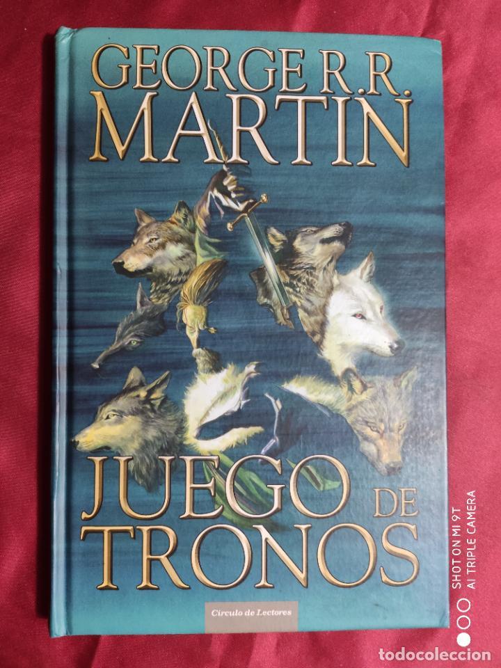 Tebeos: JUEGO DE TRONOS. coleccion COMPLETA. 4 TOMOS. GEORGE R. R. MARTIN. CÍRCULO DE LECTORES. 2015 - Foto 3 - 254832170