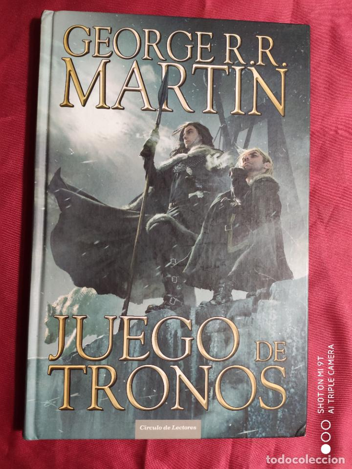 Tebeos: JUEGO DE TRONOS. coleccion COMPLETA. 4 TOMOS. GEORGE R. R. MARTIN. CÍRCULO DE LECTORES. 2015 - Foto 8 - 254832170