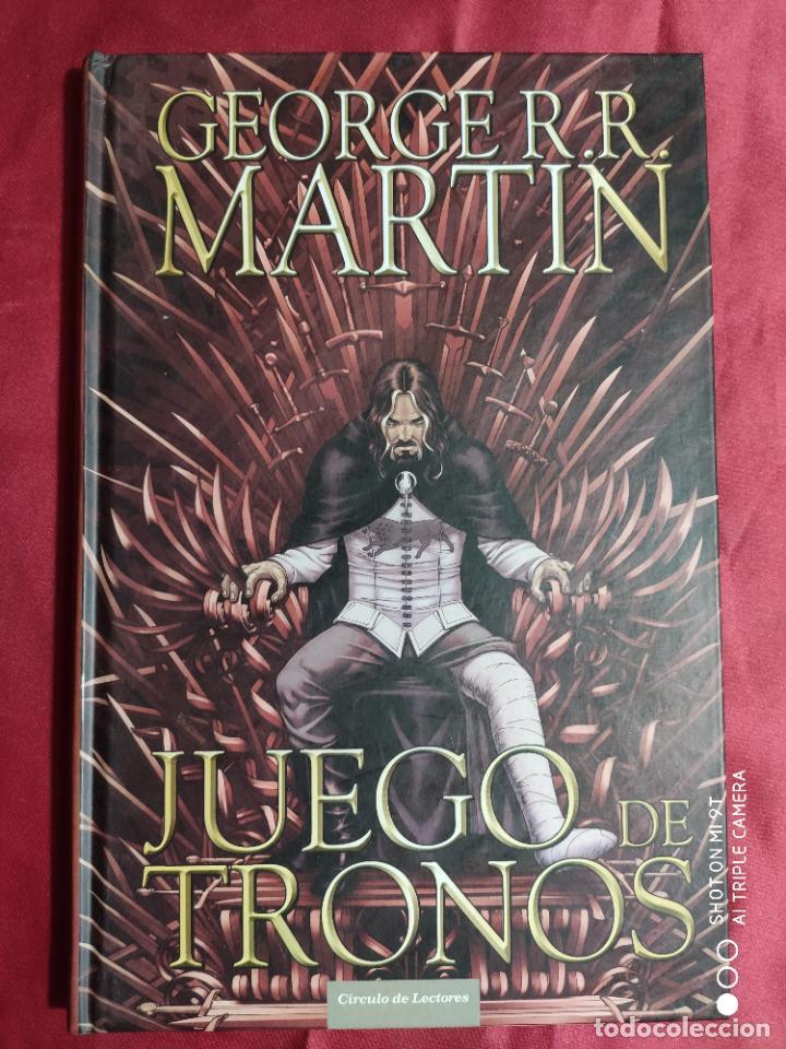 Tebeos: JUEGO DE TRONOS. coleccion COMPLETA. 4 TOMOS. GEORGE R. R. MARTIN. CÍRCULO DE LECTORES. 2015 - Foto 12 - 254832170