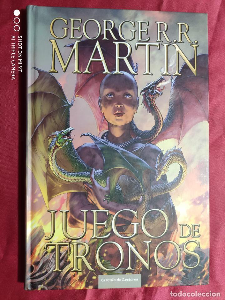 Tebeos: JUEGO DE TRONOS. coleccion COMPLETA. 4 TOMOS. GEORGE R. R. MARTIN. CÍRCULO DE LECTORES. 2015 - Foto 15 - 254832170