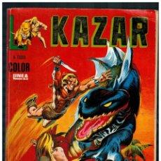 Livros de Banda Desenhada: KAZAR. MUNDI COMICS. COMPLETA 10 NÚMEROS 1 AL 5 EN UN TOMO + 6 AL 10 SUELTOS SURCO. LEER. Lote 255002665