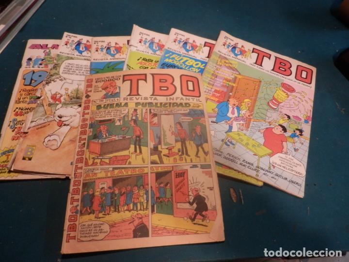 TBO - LOTE 7 CÓMICS (AÑOS 80 Nº 3 + 5 + 7 + 9 + 11 ALMANAQUE 1989 + 16) Y Nº 788 AÑO 1972 (Tebeos y Comics - Tebeos Pequeños Lotes de Conjunto)