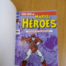 Giornalini: MARVEL HEROES IRON MAN STARK WARS Y LA MASA CUENTA ATRÁS. Lote 257799655