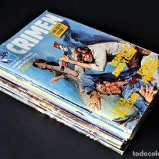 Tebeos: LOTE DE 10 COMIC DE CRIMEN (SUCESOS REALES) - ZINCO (1982/89) - 3 HISTORIAS POR COMIC- VER FOTOS. Lote 257878565