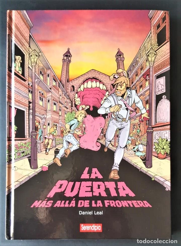 DE TIENDA - LA PUERTA MAS ALLA DE LA FRONTERA - EDICIÓN INTEGRAL - SERENDIPIA (Tebeos y Comics - Tebeos Colecciones y Lotes Avanzados)