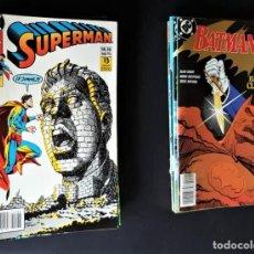 Tebeos: 21 CÓMICS DE SUPERMAN Y BATMAN (DC / EDICIONES ZINCO) VER NÚMEROS Y FOTOS. Lote 189824835