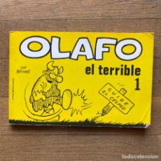 BDs: OLAFO EL TERRIBLE - NÚMERO 1 - DIK BROWNE - EDICIÓN PEREZ MARTINEZ 1981. Lote 260544825