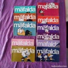 Tebeos: MAFALDA (11 VOLÚMENES) DEL NÚMERO 0 AL 10. QUINO. . COMPLETA. Lote 260869185