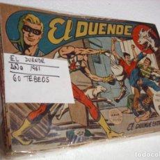 Tebeos: EL DUENDE COLECC.ORIGINAL COMPLETA 1961- 60 TEBEOS -IMPORTANTE LEER DESCRIPCIÓN. Lote 261537565