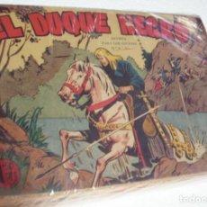 Tebeos: EL DUQUE NEGRO COLECC.ORIGINAL COMPLETA 1957- 25 TEBEOS+ALMANAQUE -IMPORTANTE LEER DESCRIPCIÓN. Lote 261539145