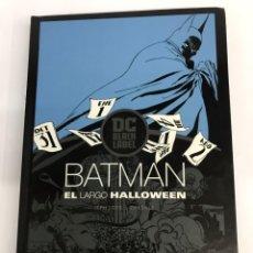 BDs: BATMAN: EL LARGO HALLOWEEN, 1ª EDICIÓN BLACK LABEL, EDITORIAL ECC.. Lote 261781165