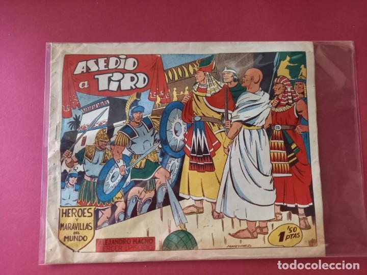 Tebeos: HEROES Y MARAVILLAS DEL MUNDO-ALEJANDRO MAGNO - COLECCION COMPLETA ORIGINAL - - Foto 4 - 261915955