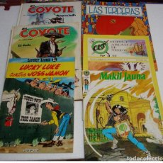 Tebeos: INTERESANTE LOTE DE 6 COMIC-COYOTE-LUCKY-ETC-IMPORTANTE LEER DESCRIPCIÓN. Lote 262000575