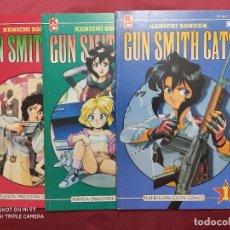 Tebeos: GUN SMITH CATS. COLECCION COMPLETA. 3 EJEMPLARES. PLANETA. Lote 262009430