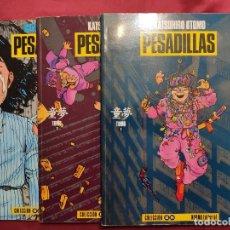 Tebeos: PESADILLAS KATSUHIRO OTOMO. COMPLETA. 3 EJEMPLARES. NORMA EDITORIAL 1ª EDICION. Lote 262149850