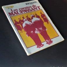Tebeos: LOS CUENTOS DE MAUPASSANT- DINO BATTAGLIA - BIBLIOTECA TOTEM (1981) -106 PG.. Lote 262505240