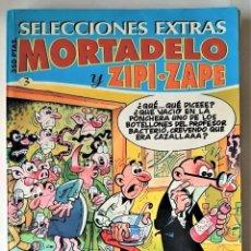 Tebeos: SELECCIONES EXTRA: MORTADELO Y ZIPI-ZAPE - VER DESCRIPCIÓN. Lote 262613090