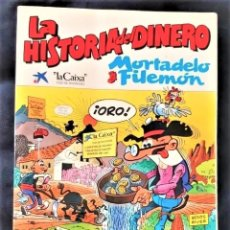 Tebeos: LA HISTORIA DEL DINERO POR MORTADELO Y FILEMÓN. Lote 262644700