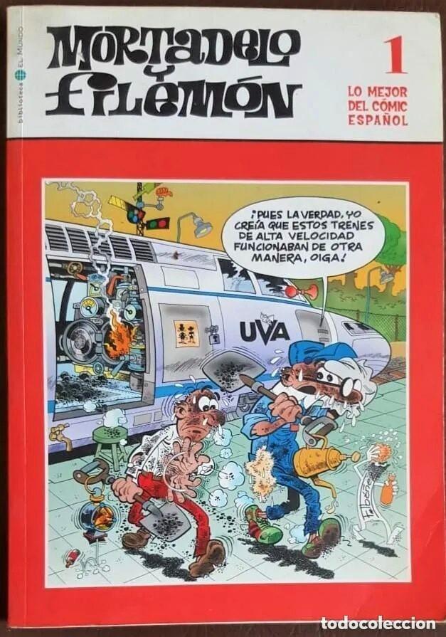 MORTADELO Y FILEMÓN Nº 1, - LO MEJOR DEL COMIC ESPAÑOL - EL MUNDO (Tebeos y Comics - Tebeos Colecciones y Lotes Avanzados)