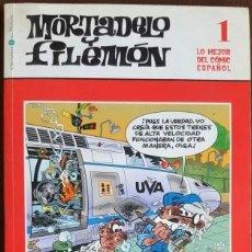 Tebeos: MORTADELO Y FILEMÓN Nº 1, - LO MEJOR DEL COMIC ESPAÑOL - EL MUNDO. Lote 262644865