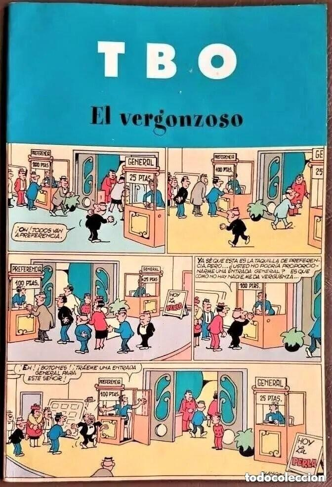 TBO, EL VERGONZOSO, CONTIENE 3 NºS DE LA COLECCIÓN - VER FOTOS (Tebeos y Comics - Tebeos Colecciones y Lotes Avanzados)