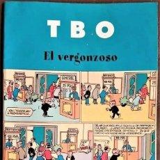 Tebeos: TBO, EL VERGONZOSO, CONTIENE 3 NºS DE LA COLECCIÓN - VER FOTOS. Lote 262645220